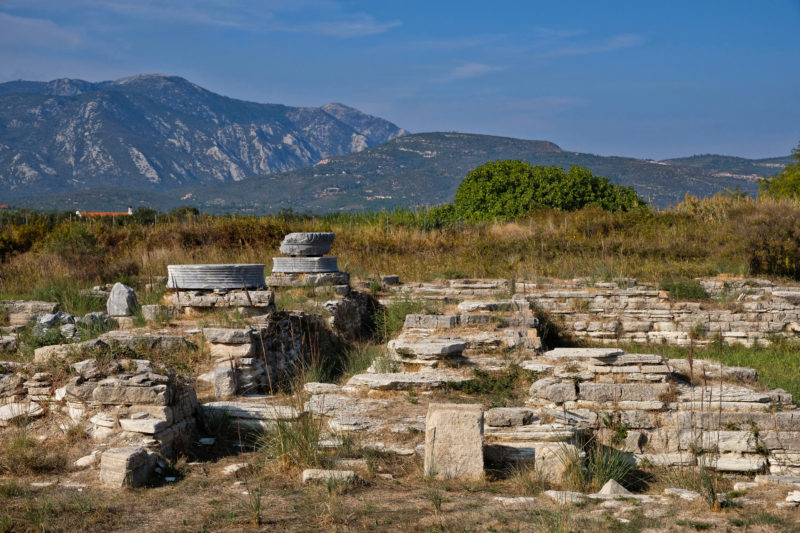 Chrám Heraion z 8. stol. př. n. l.