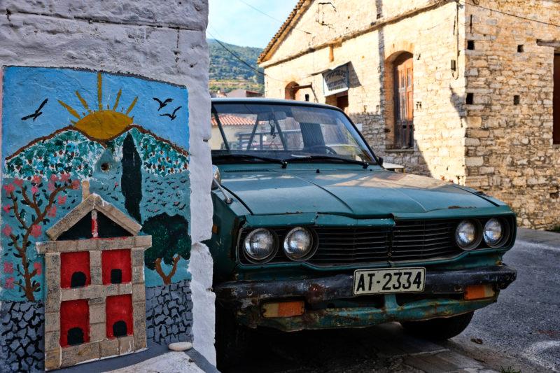 V ulicích vesnice Pagondas