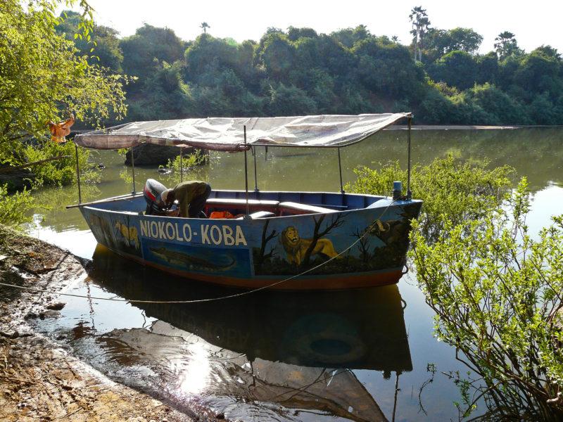 Plavba po řece Gambie