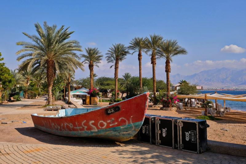 Hotely, restaurace, bary a pláže - zejména to je Eilat