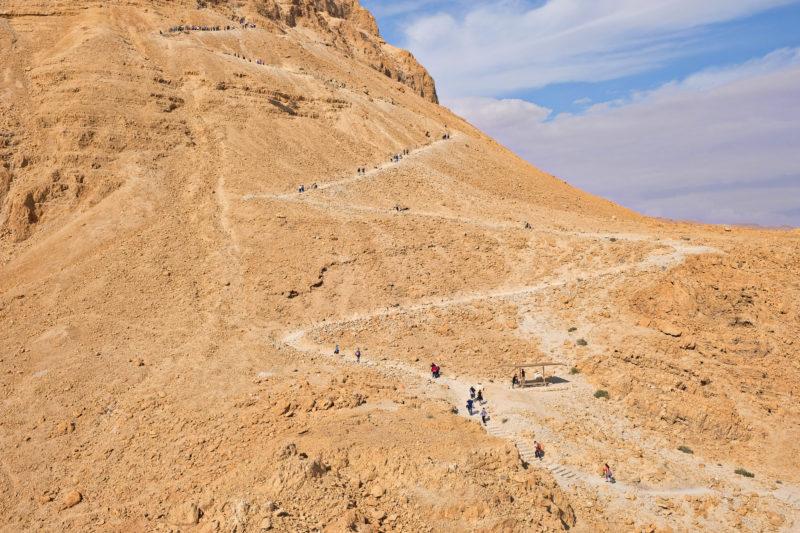 Cestou na pevnost - varianta pěšky po Snake Path