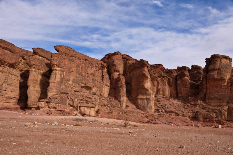 Šalamounovy pilíře - impozantní pískovcové sloupy