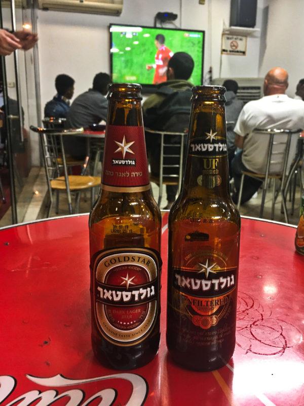 Izraelské pivo a anglický fotbal