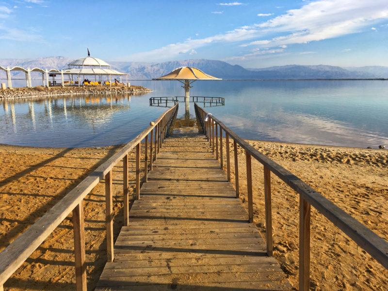 Mrtvé moře u LOT hotelu