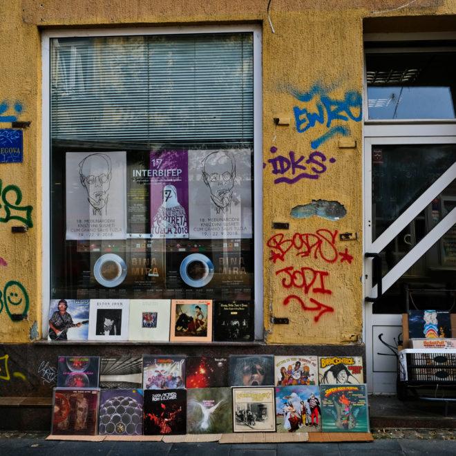 Prodej vinylů