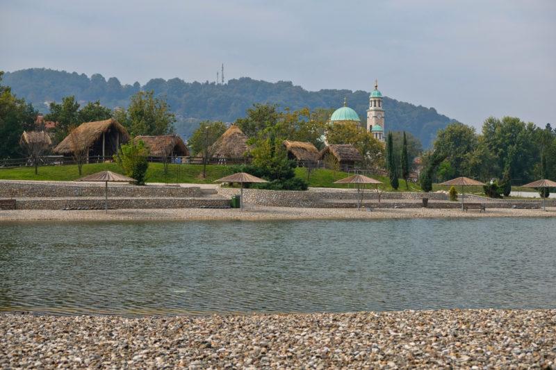 Panonská jezera (Panonika) na podzim