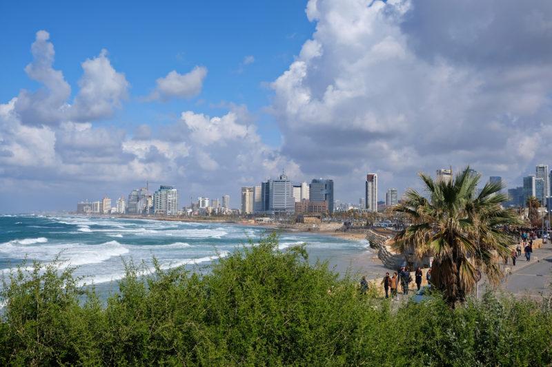 Pohled na Tel Aviv z Jaffy