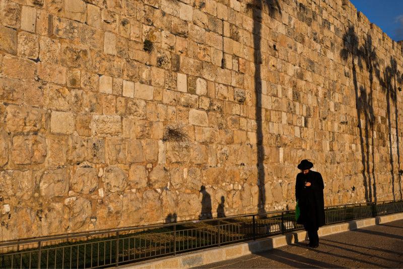 Před hradbami starého Jeruzaléma