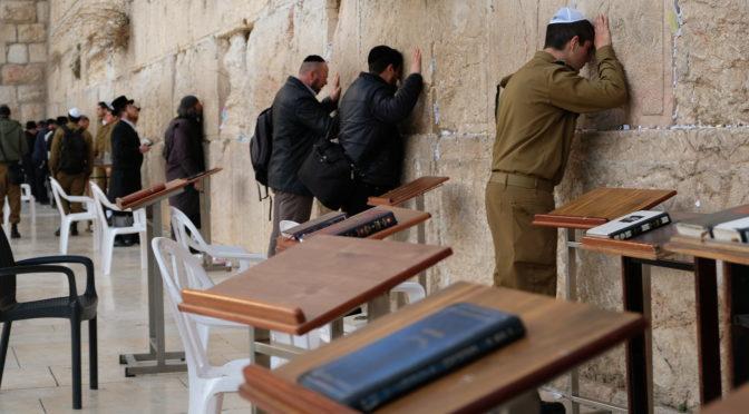 Zeď nářků Jeruzalém