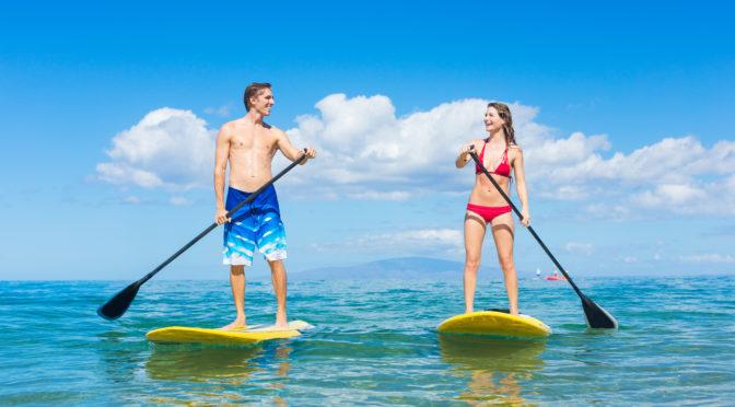 Jak vybrat ten nejlepší paddleboard