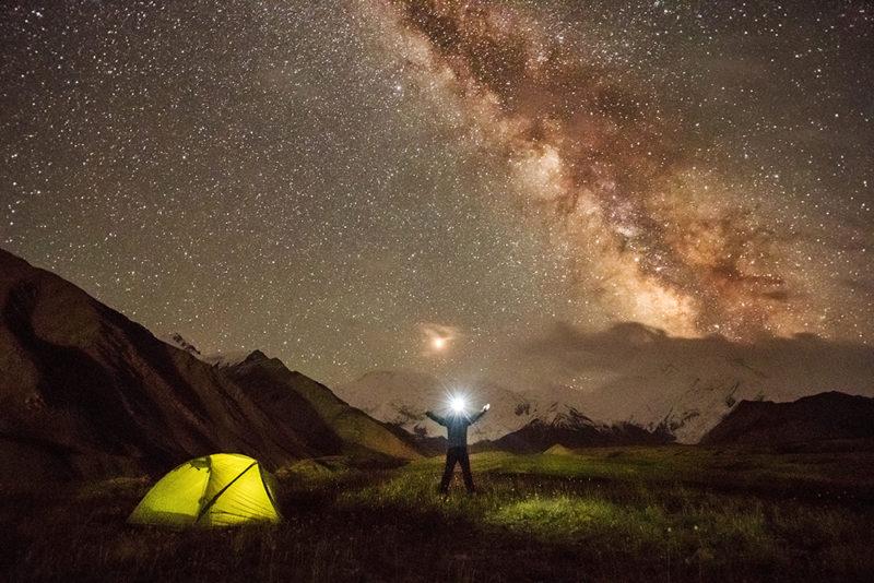 Nocleh pod hvězdami