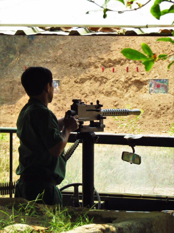 Střelnice v Cu Chi.