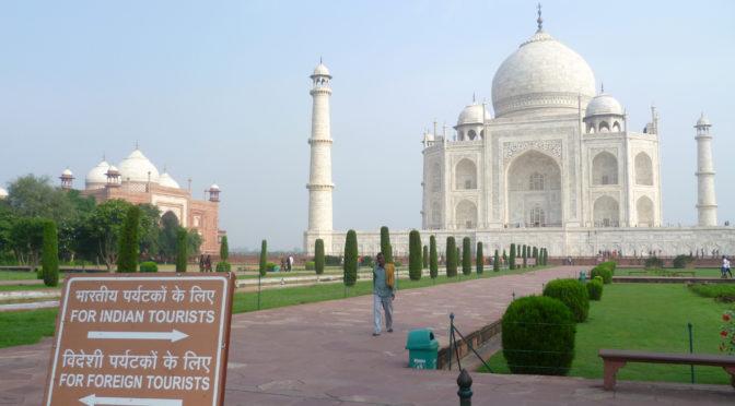 Tádž Mahal – perla Indie