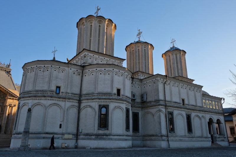 Pravoslavná patriarchální katedrála v Bukurešti