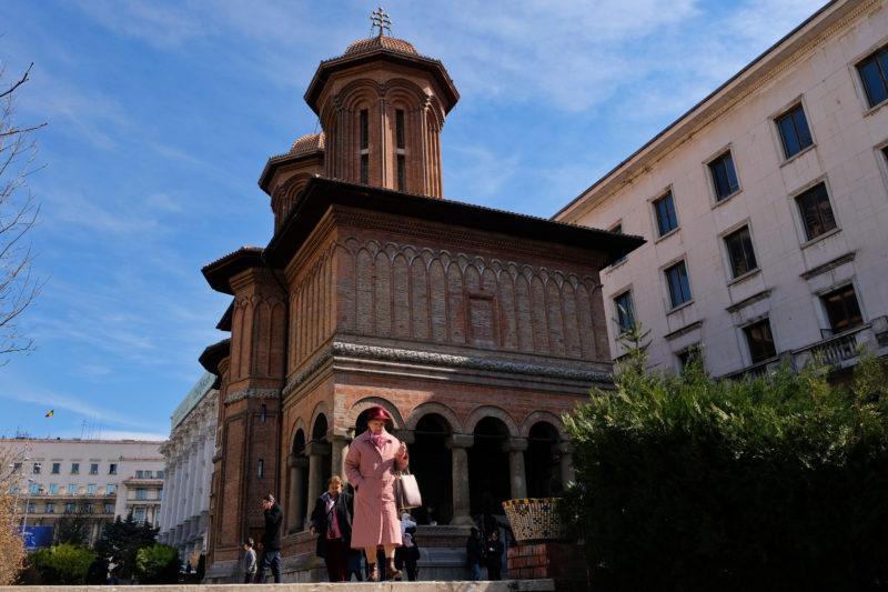 Na třídě Calea Victoriei najdete například kostel Kretulescu