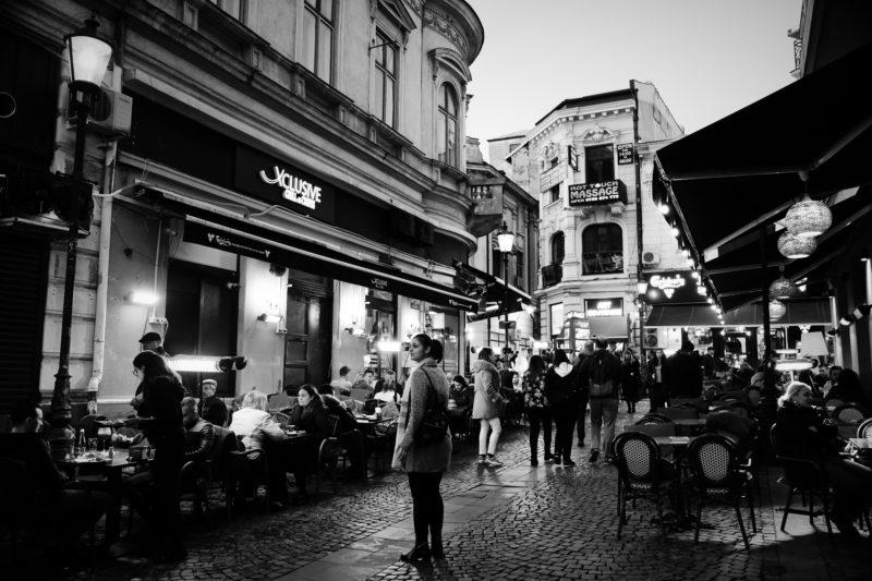 V uličkách staré Bukurešti