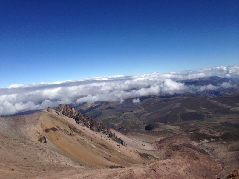 Aklimatizační výstup na Chimborazu