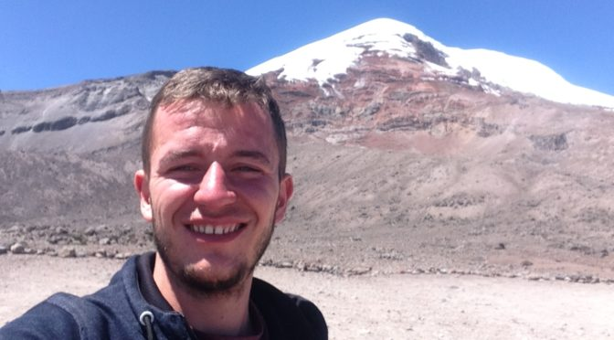Výstup na sopku Chimborazo, Ekvádor