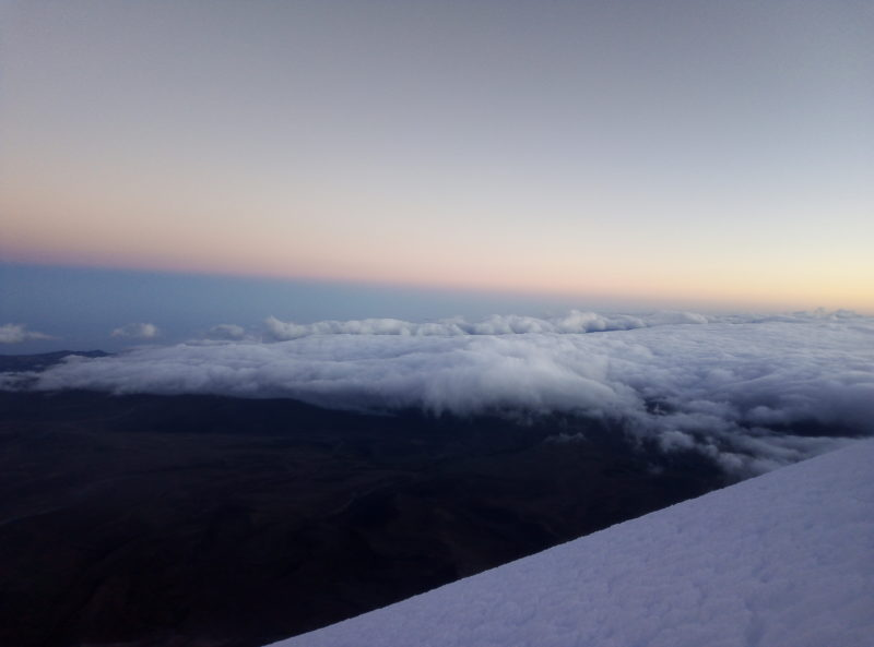Chimborazo 6000 metrů nad mořem