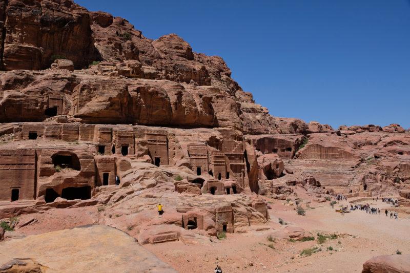 the street of facades Petra
