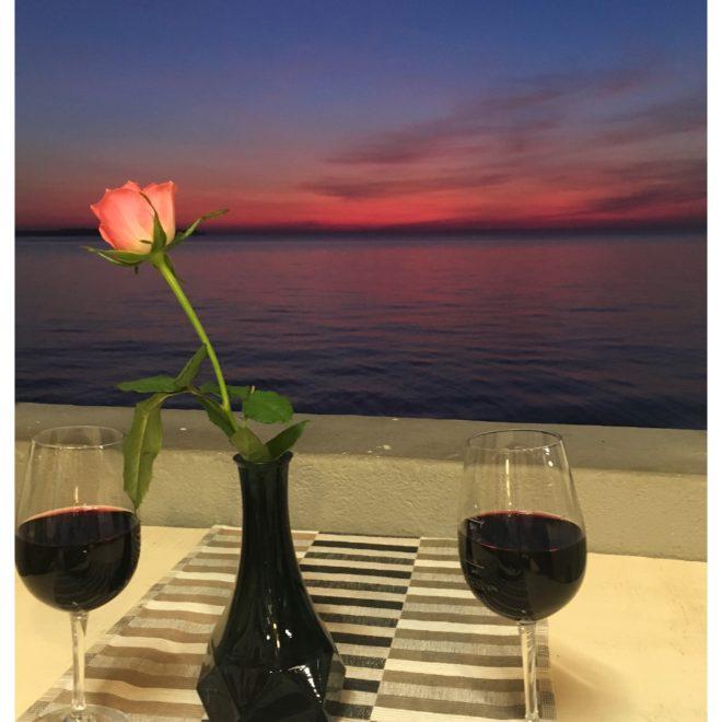 Restaurace Piran vine