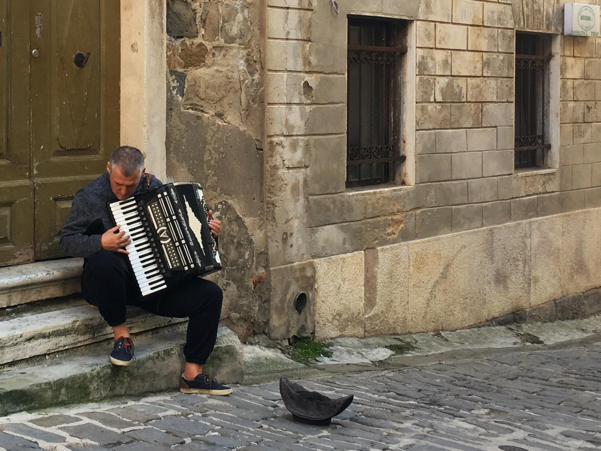 muzikant Piran