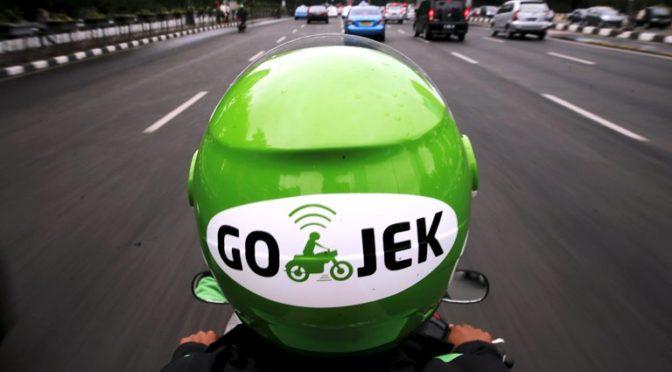 GOJEK – levné mototaxi v Indonésii
