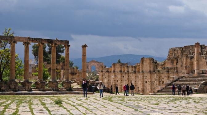 Jerash – jedno z nejzachovalejších antických měst světa