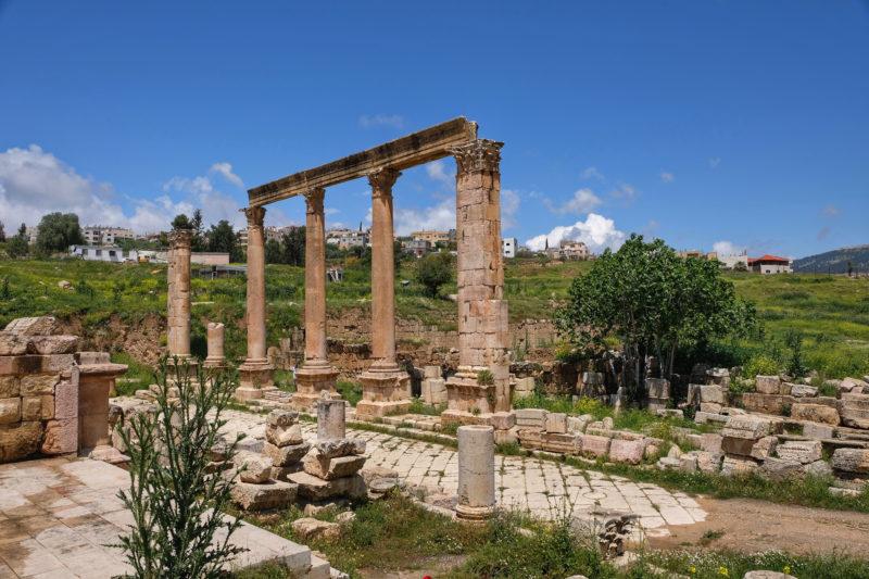 Agora, Basilica, Jerash