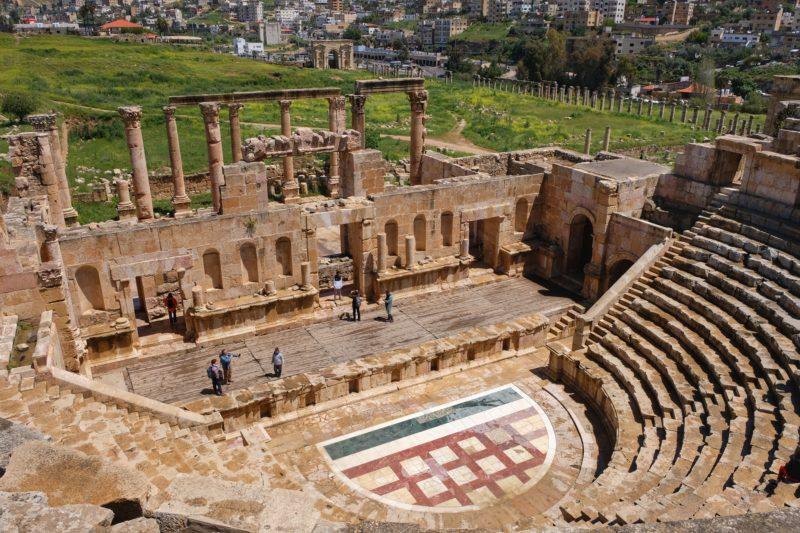 North theater Jerash