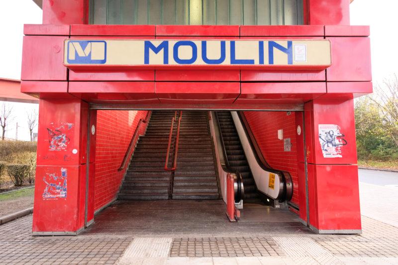 Stanice Moulin, Charleroi