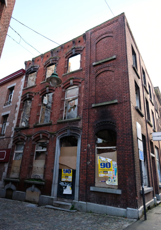 Budova Charleroi