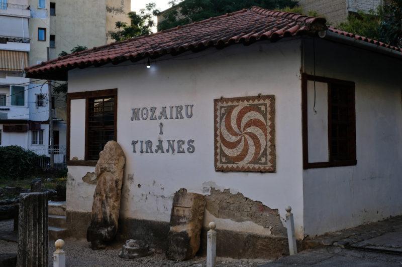 mozaika tirana